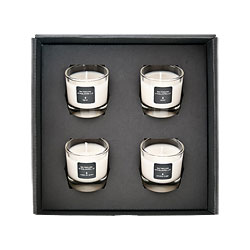 coffret de 4 bougies de 30g livraison de. Black Bedroom Furniture Sets. Home Design Ideas
