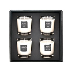 coffret de 4 bougies de 70g livraison de fleurs. Black Bedroom Furniture Sets. Home Design Ideas