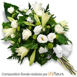 livraison fleurs deuil compositions florales pour des obs ques. Black Bedroom Furniture Sets. Home Design Ideas