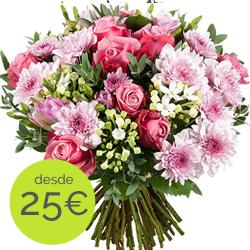Env O De Maravillosas Flores Frescas Con Aquarelle