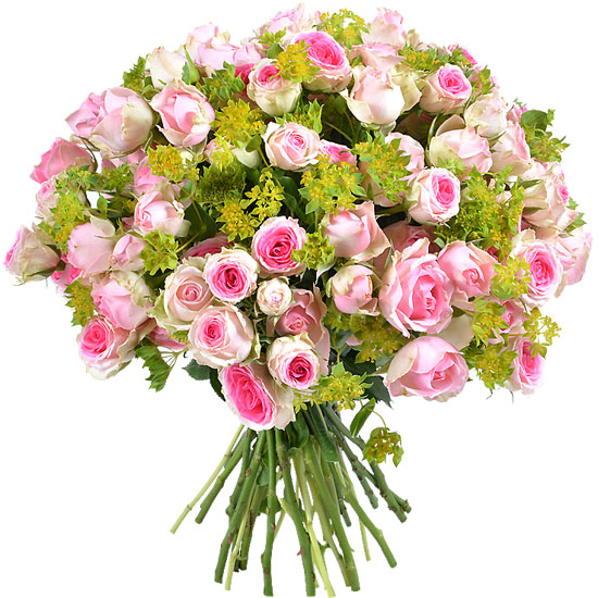 Bouquet of Dinara spray roses