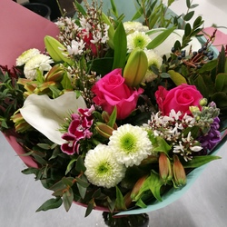 abonnement de bouquets de fleurs en france aquarelle. Black Bedroom Furniture Sets. Home Design Ideas
