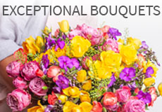 Exceptional bouquets and gifts for very special occasions
