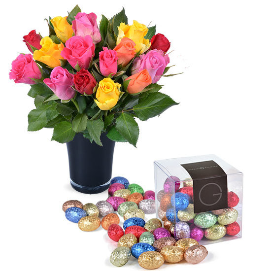 1001 Flavours Cube of Easter eggs and Roses