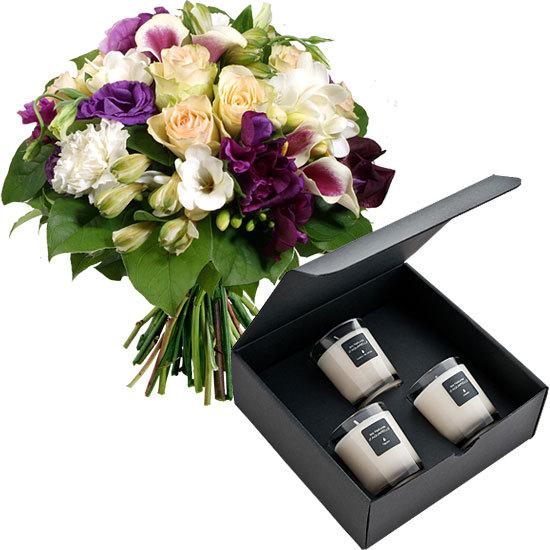 Un duo parfum livraison de fleurs for Aquarelle livraison fleurs