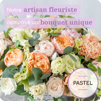 Florist's bouquet colored by 123fleurs