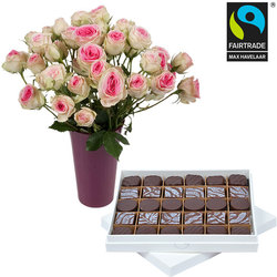 Dark Chocolates and Roses