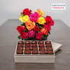 Roses and Prestige Dark Chocolates
