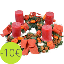 Gourmet Advent Wreath