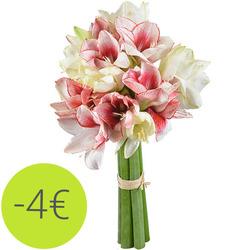 Bouquets de fleurs livraison fleurs de saison aquarelle for Fleurs amaryllis bouquet
