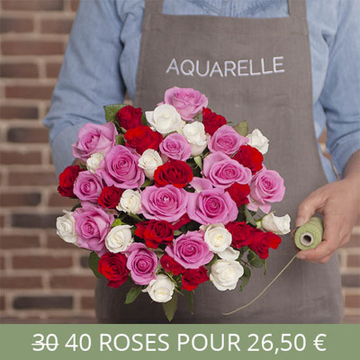 Send Flowers To France Flower Delivery Aquarelle
