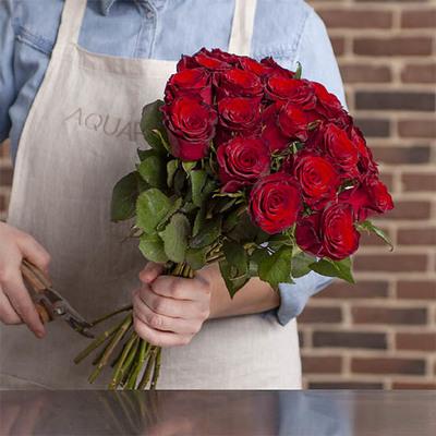 Bouquet De Roses Livraison De 30 40 50 60 Roses Aquarelle