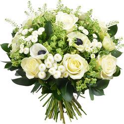 Bouquets de fleurs livraison fleurs de saison aquarelle for Bouquet de fleurs vert et blanc