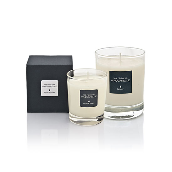 One 190g and one 70g scented candle