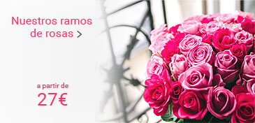 Our rose bouquets from 27 euros