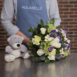 Flowers to spain for new baby