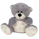 Add an adorable extra gift with this 20 cm fluffy teddy bear
