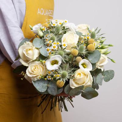 Ramo De Flores Boda Regalos Flores De Boda Aquarelle