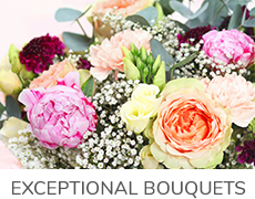 Exceptional bouquets