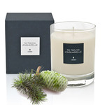 A fragrant 'Cedar' scented candle