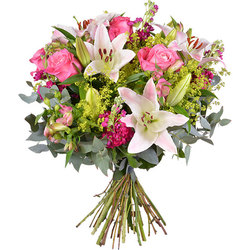 Grand bouquet romantique