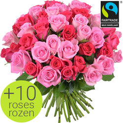 Order this bouquet of pink roses