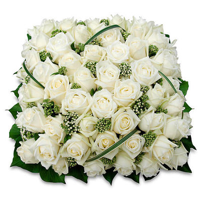 Hommage - Funeral cushion by Teleflora