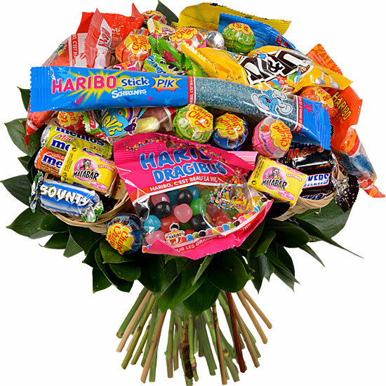 Send this bouquet of sweets