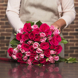 Tenderness Bouquet of pink roses
