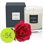 190g Garde Rosen Scented Candle
