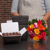 Chocolate rochers and 15 roses