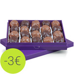 210g of rochers in a pretty violet box