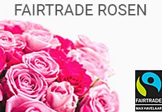 Fairtrade Rosen ab 26.50 Euro