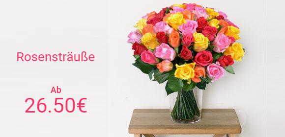 Blumenversand – Online Blumen verschicken | Aquarelle