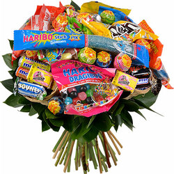 Offer a bouquet of sweets