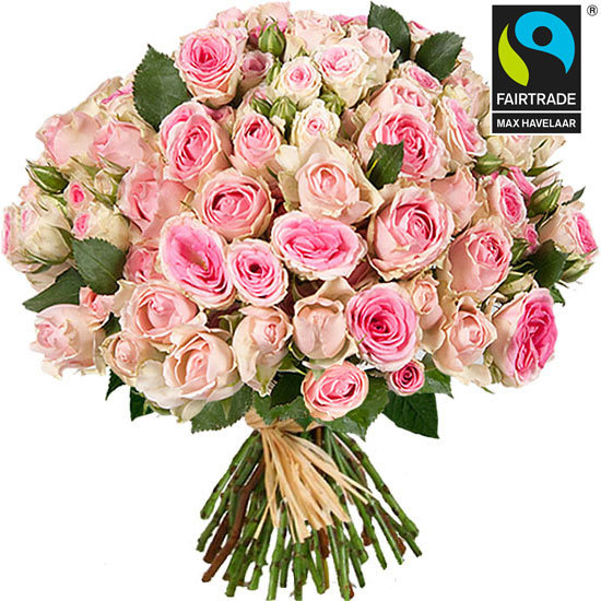 Send a bouquet of Mimi Eden and Dinara roses