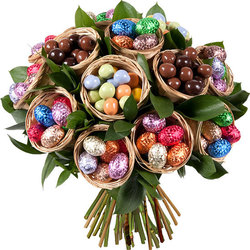 Easter Chocolate Bouquet