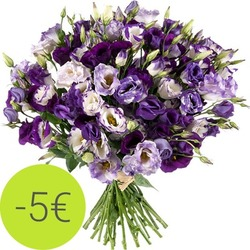 Send a delicate Lisianthus bouquet