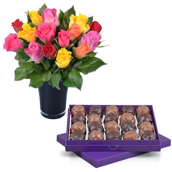 Ecuador Chocolate Rochers and Roses
