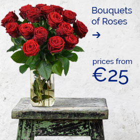 Bouquet of Roses (prices from €25)