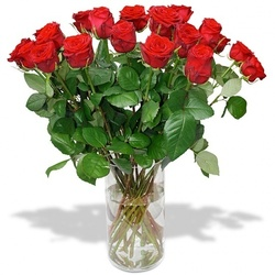 Same day delivery available with Red Roses Bouquet