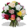 Same day delivery available with Multicolor Roses