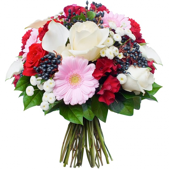 Same day delivery available with the Alborada Bouquet
