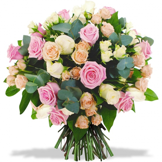 Same day delivery available with the La Vie est Belle Bouquet