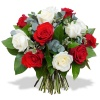 Same day delivery available with the Strawberry and Cream Bouquet