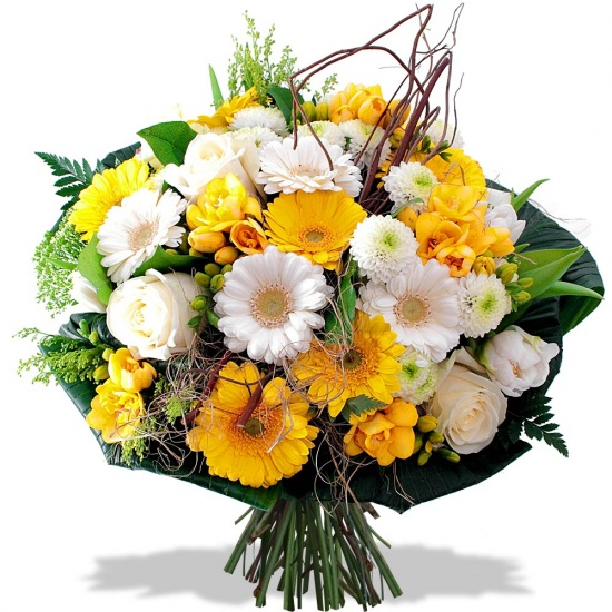 Same day delivery available with the Solaris Bouquet.