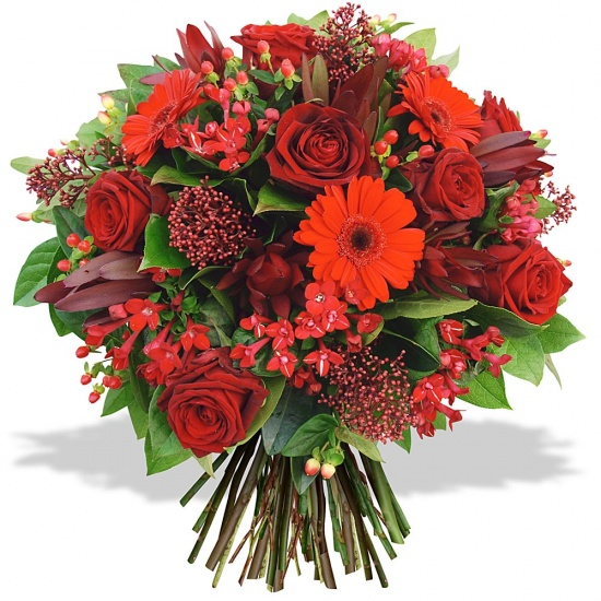 Same day delivery available with the Valentino Bouquet