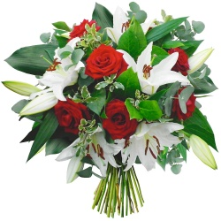 Same day delivery available with the Montreal Bouquet