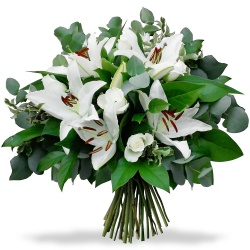 Same day delivery available with the Eden Bouquet