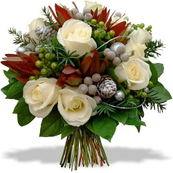 Same day delivery available with the New Year's Eve Bouquet